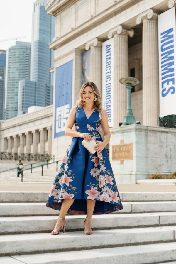 What to Wear to a Wedding at the Chicago Field Museum — bows & sequins