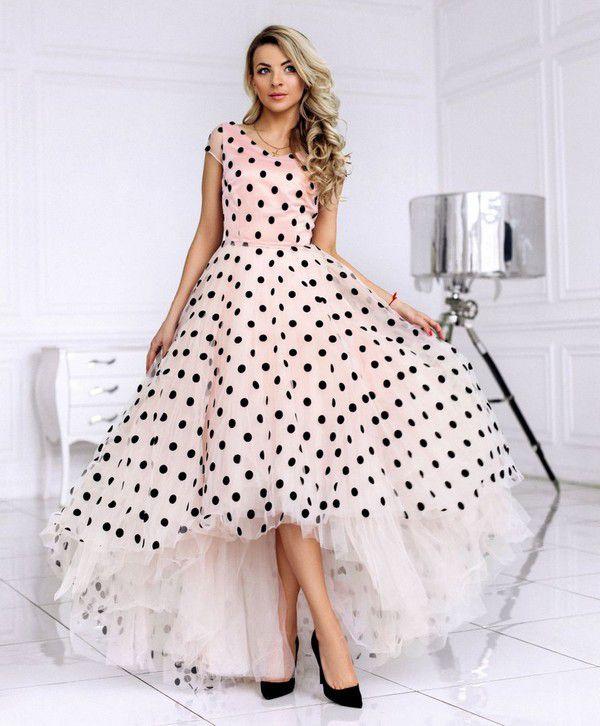 Стильное вечернее платье в пол прямого силуэта с кружевным верхом и фатиновой юбкой: фото 16010196 - Свадебный салон DIONI