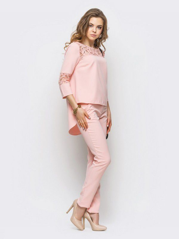 Комплект брюки+блуза арт. 051314075. Купить в интернет-магазине Liverua. Доставка по Украине.
