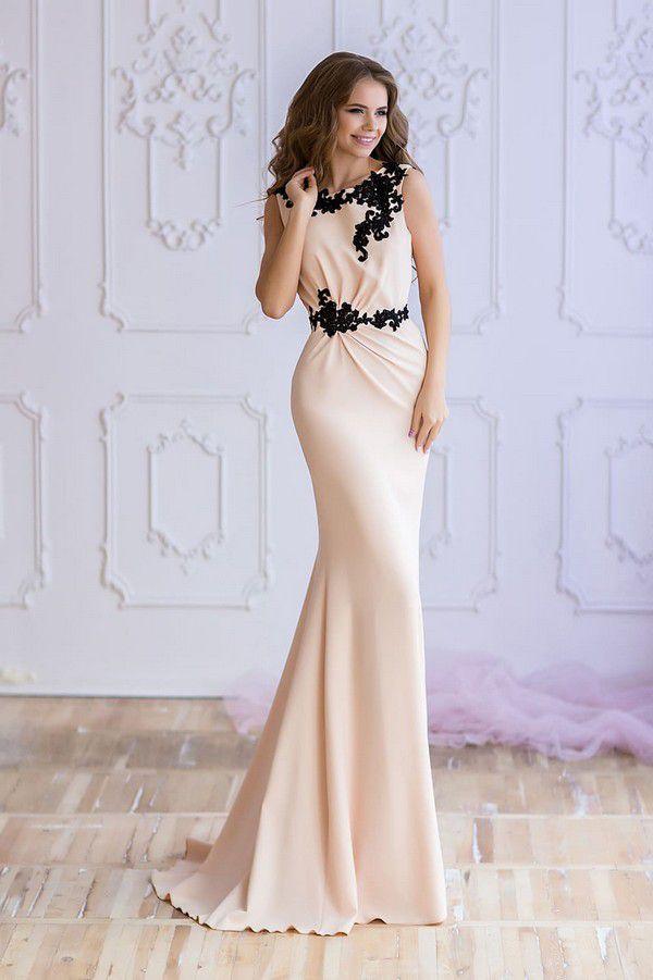 Бежевое коктейльное платье Valentina Gladun Solaris — купить в Москве - Свадебный ТЦ Вега