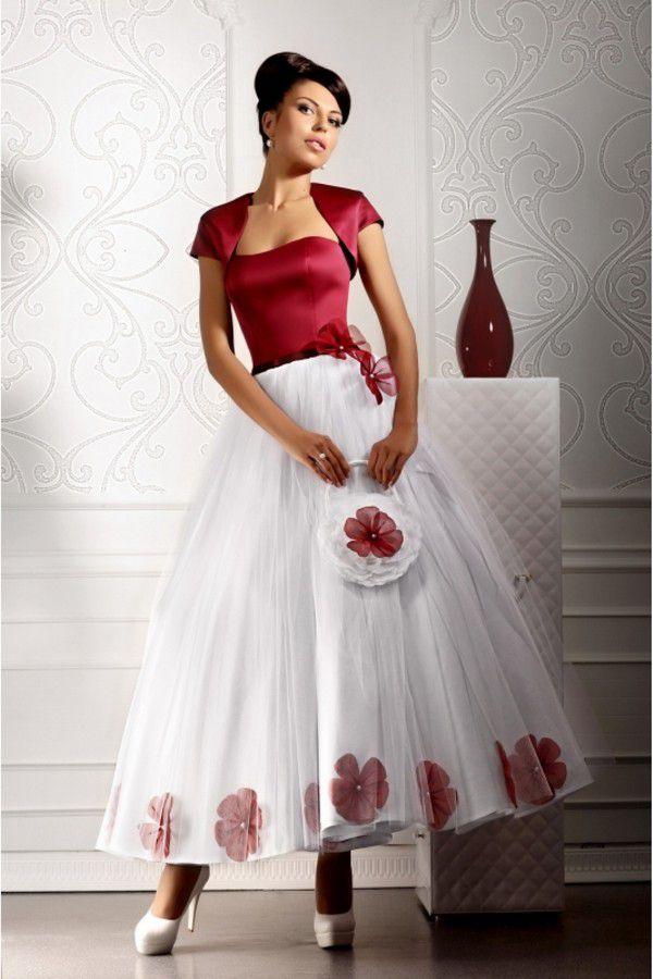 Купить вечернее платье Цветочный блюз + болеро