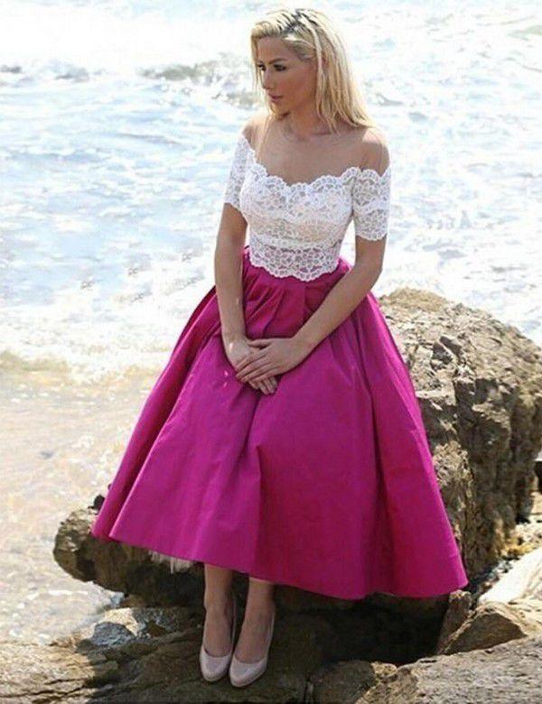 https://ae01.alicdn.com/kf/HTB1XOsPQFXXXXXxaXXXq6xXFXXX6/Romance-Fuchsia-Beach-Bridesmaid-Dresses-Tea-Length-Lace-Cheap-Maid-of-Honor-Dress-2019-Wedding-Guest.jpg