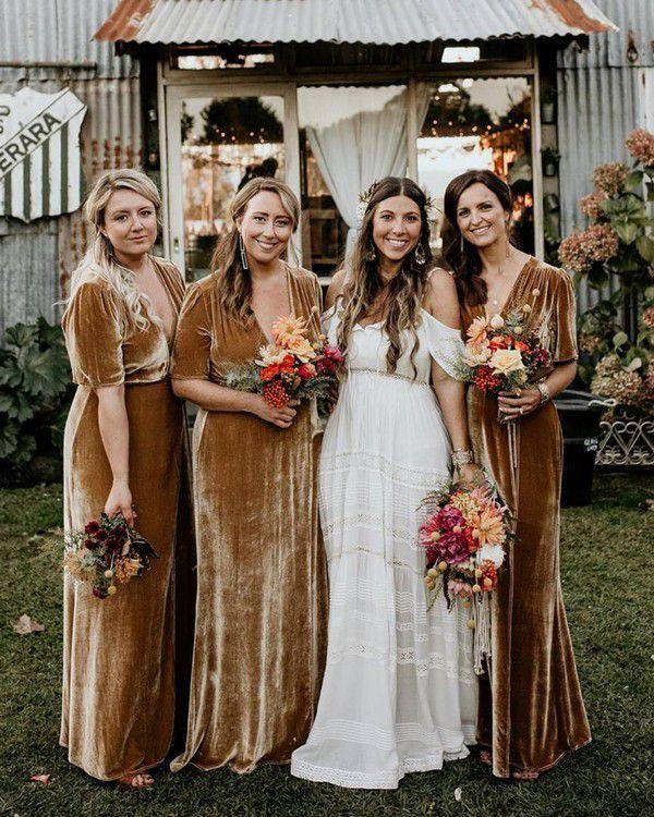 https://www.deerpearlflowers.com/wp-content/uploads/2019/10/velvet-brown-bridesmaid-dresses.jpg