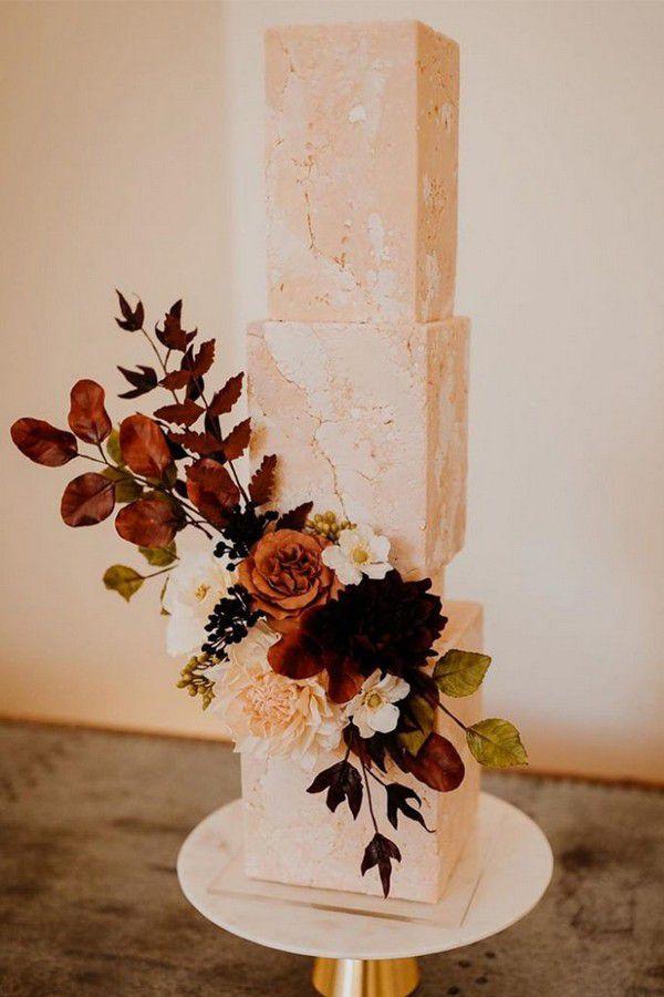 https://www.elegantweddinginvites.com/wedding-blog/wp-content/uploads/2020/09/square-tiered-wedding-cake-with-fall-flowers-683x1024.jpg