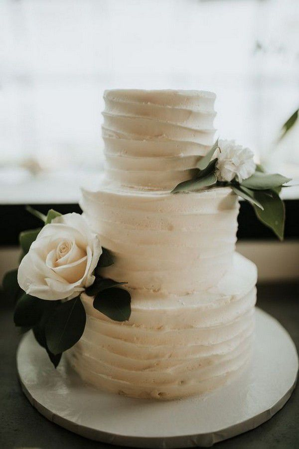 http://www.loveinconfetti.com/wp-content/uploads/2020/07/simple-ruffled-wedding-cake-with-floral.jpg