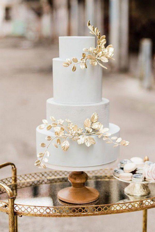 http://www.loveinconfetti.com/wp-content/uploads/2020/07/unique-wedding-cake-with-metallic-leaves.jpg