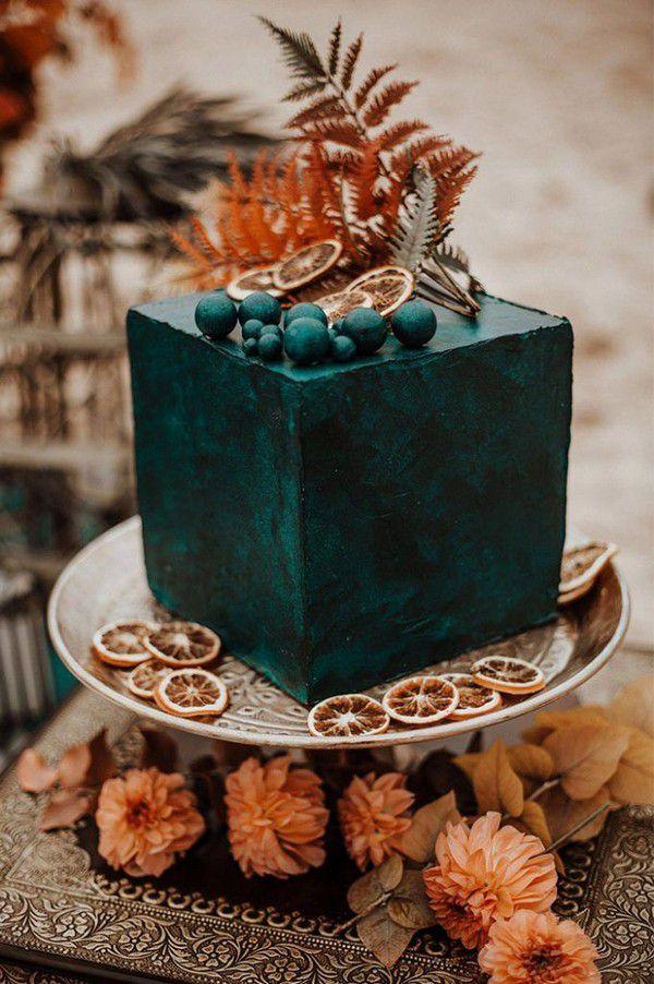 https://www.elegantweddinginvites.com/wedding-blog/wp-content/uploads/2020/09/teal-and-rust-orange-color-inspired-minimalist-fall-wedding-cake-681x1024.jpg
