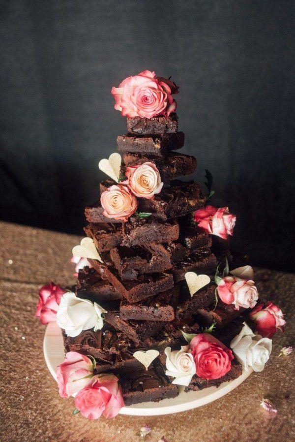 https://www.elegantweddinginvites.com/wedding-blog/wp-content/uploads/2020/09/stylish-chocolate-brownie-wedding-cake-alternatives-684x1024.jpg
