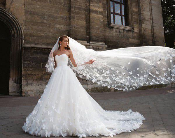 Как сделать удобным платье со шлейфом - Wedding.uz - Ташкентский свадебный журнал